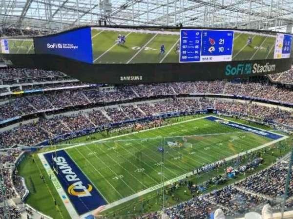 SoFi Stadium, section: 437, row: 4, seat: 7
