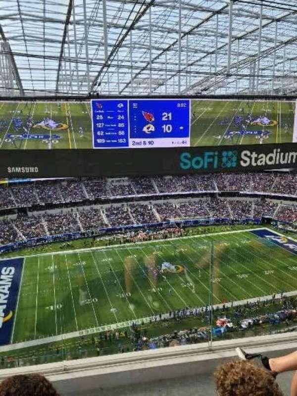 SoFi Stadium, section: 440, row: 4, seat: 13