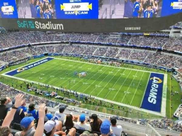 SoFi Stadium, section: 448, row: 5, seat: 1