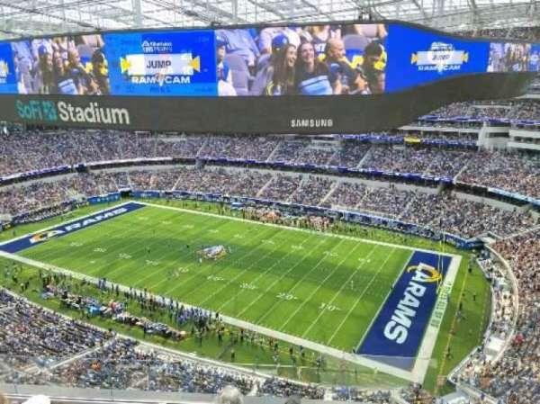 SoFi Stadium, section: 449, row: 5, seat: 1