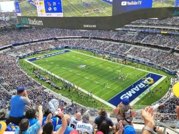 SoFi Stadium, section: 451, row: 5, seat: 2