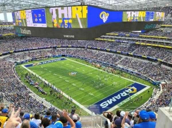 SoFi Stadium, section: 452, row: 7, seat: 1