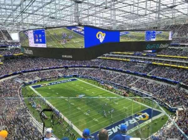 SoFi Stadium, section: 453, row: 6, seat: 1