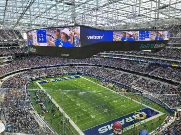 SoFi Stadium, section: 454, row: 6, seat: 12