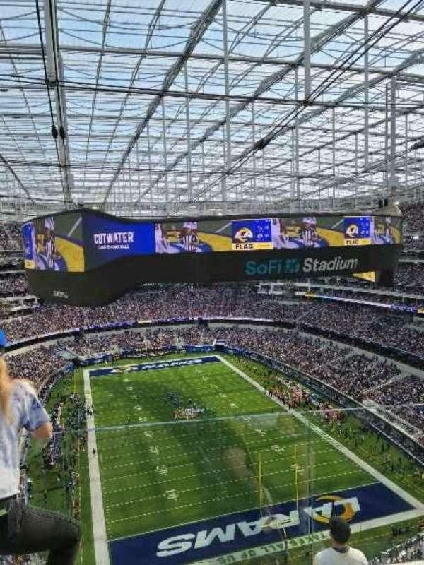 SoFi Stadium, section: 456, row: 6, seat: 8