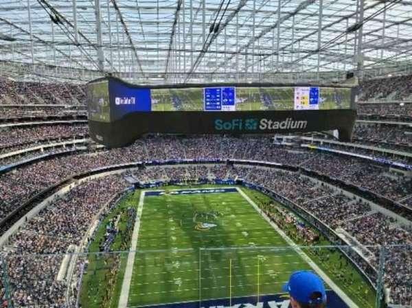 SoFi Stadium, section: 457, row: 6, seat: 10