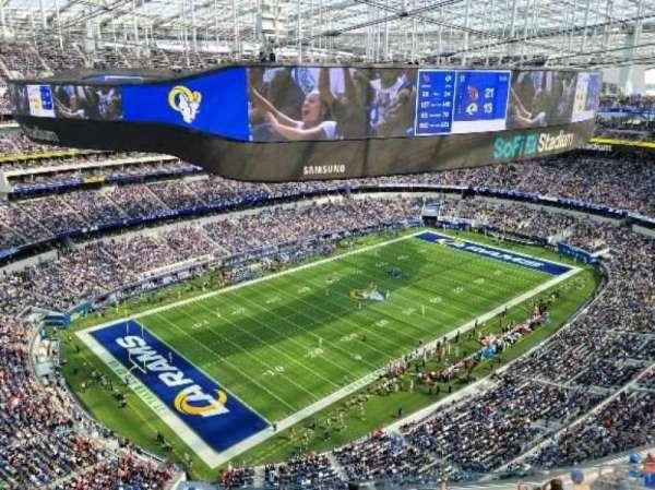 SoFi Stadium, section: 506, row: 3, seat: 4