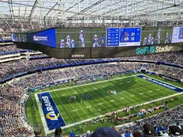 SoFi Stadium, section: 509, row: 5, seat: 16
