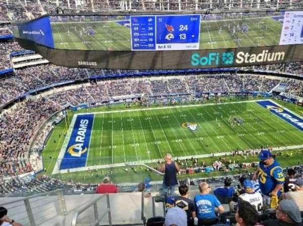 SoFi Stadium, section: 512, row: 8, seat: 24