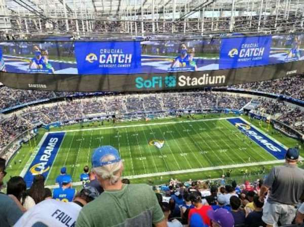 SoFi Stadium, section: 513, row: 12, seat: 23