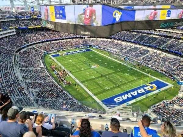 SoFi Stadium, section: 525, row: 5, seat: 10