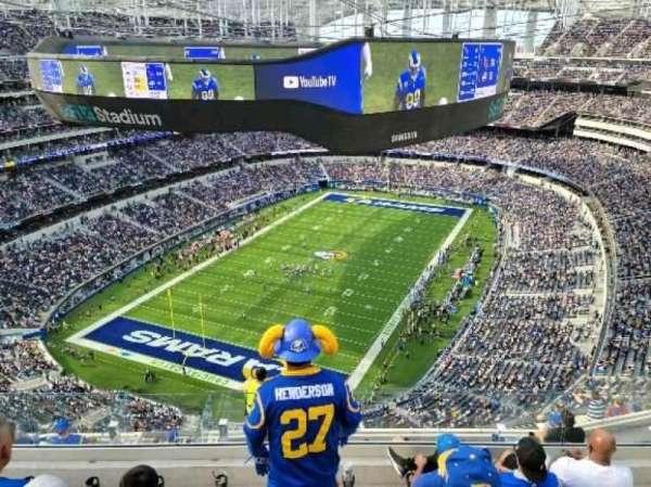 SoFi Stadium, section: 528, row: 5, seat: 5