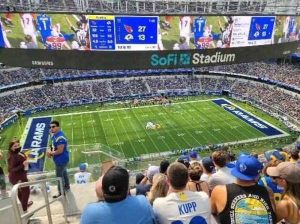 SoFi Stadium, section: 538, row: 8, seat: 24