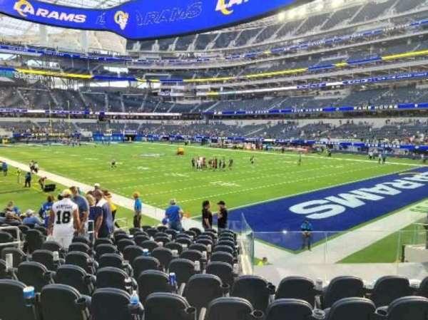SoFi Stadium, section: C137, row: 14, seat: 10