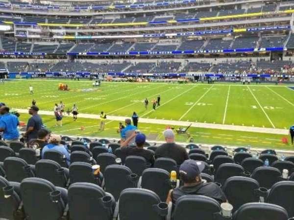 SoFi Stadium, section: C134, row: 11, seat: 11