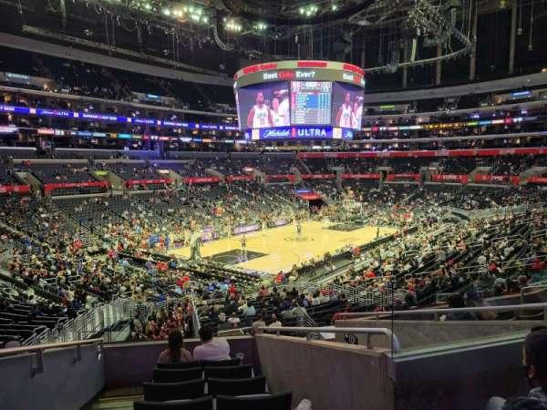 Staples Center, section: PR18, row: 8, seat: 14