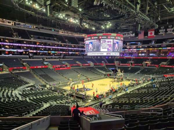 Staples Center, section: PR9, row: 12, seat: 14