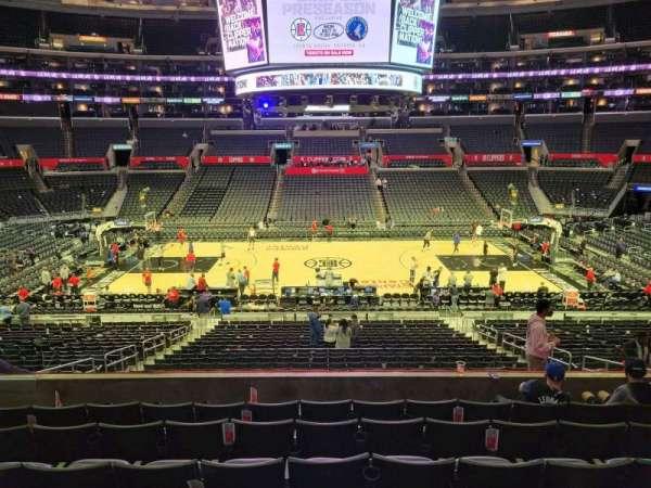 Staples Center, section: PR5, row: 7, seat: 10