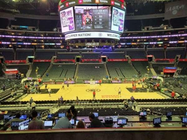 Staples Center, section: PR14, row: 5, seat: 9