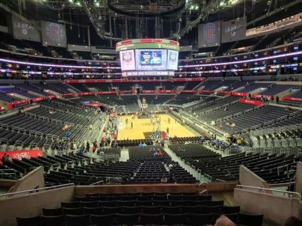 Staples Center, section: 217, row: 11, seat: 11