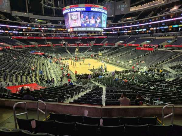 Staples Center, section: 218, row: 6, seat: 6