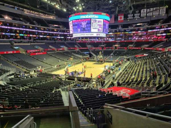 Staples Center, section: 206, row: 7, seat: 2