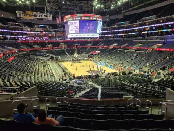 Staples Center, section: 209, row: 10, seat: 10