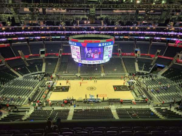 Staples Center, section: 301, row: 7, seat: 15