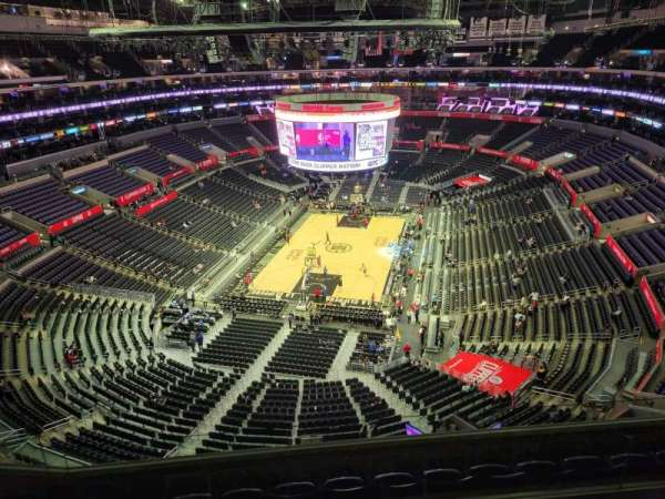Staples Center, section: 308, row: 7, seat: 14
