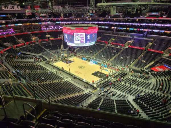 Staples Center, section: 314, row: 6, seat: 6