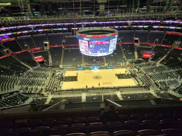 Staples Center, section: 318, row: 12, seat: 30