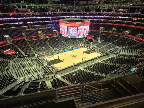 Staples Center, section: 321, row: 7, seat: 10