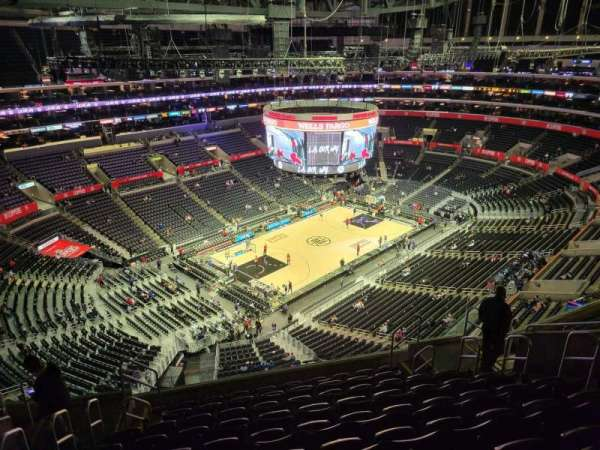 Staples Center, section: 322, row: 10, seat: 10