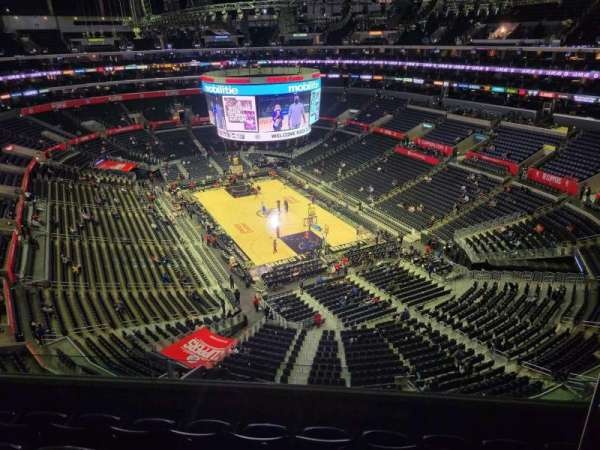Staples Center, section: 329, row: 5, seat: 5