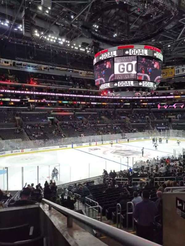 Staples Center, section: PR8, row: 5, seat: 3