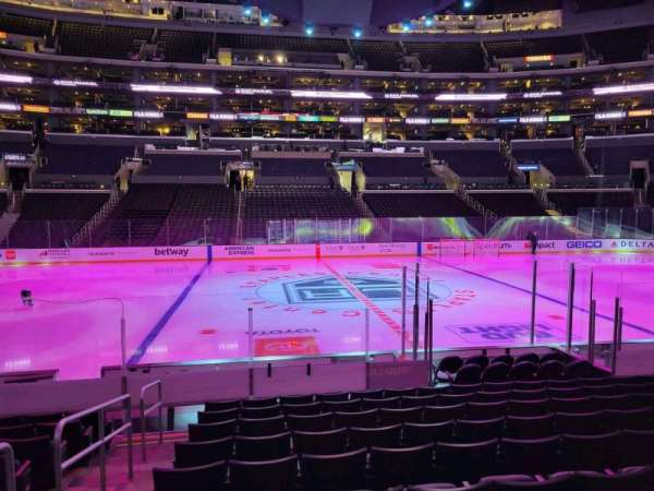 Staples Center, section: 101, row: 12, seat: 20