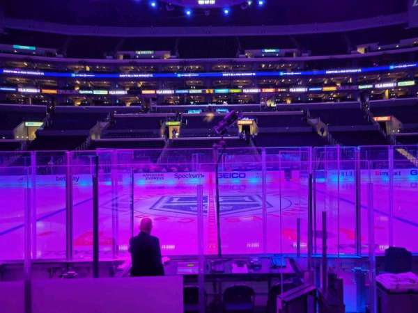Staples Center, section: 111, row: 7, seat: 11