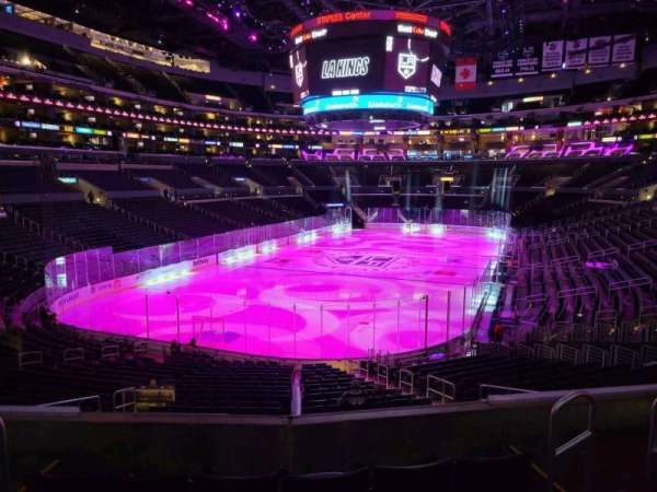 Staples Center, section: 206, row: 5, seat: 5