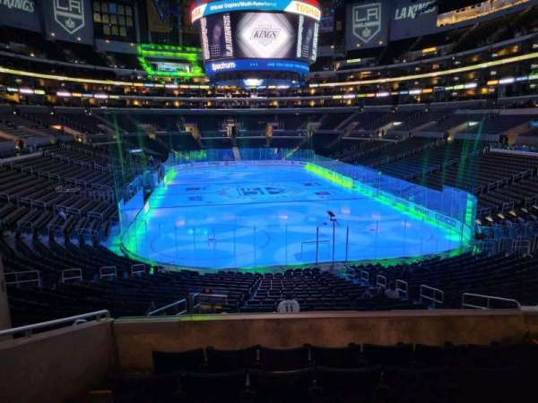 Staples Center, section: 217, row: 6, seat: 8