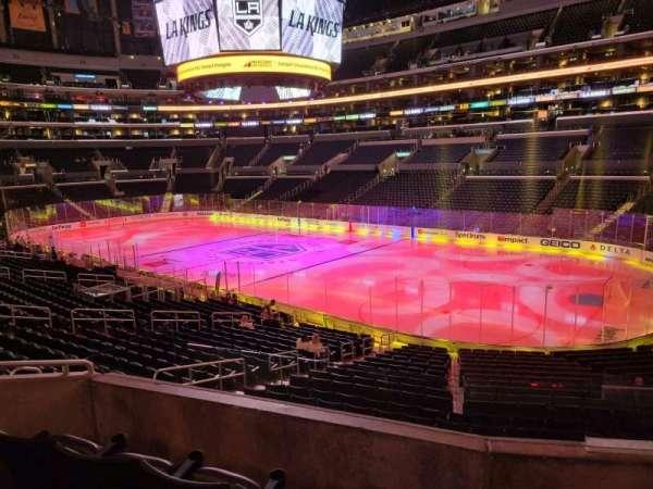 Staples Center, section: PR2, row: 4, seat: 2