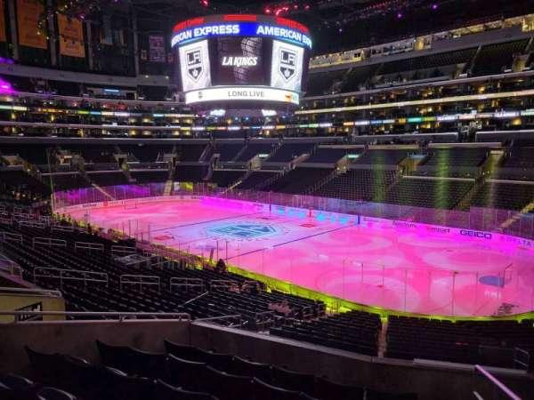 Staples Center, section: PR2, row: 7, seat: 1