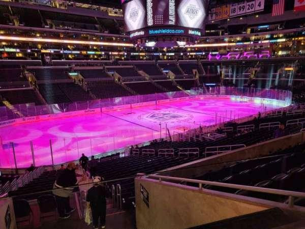 Staples Center, section: PR8, row: 7, seat: 2