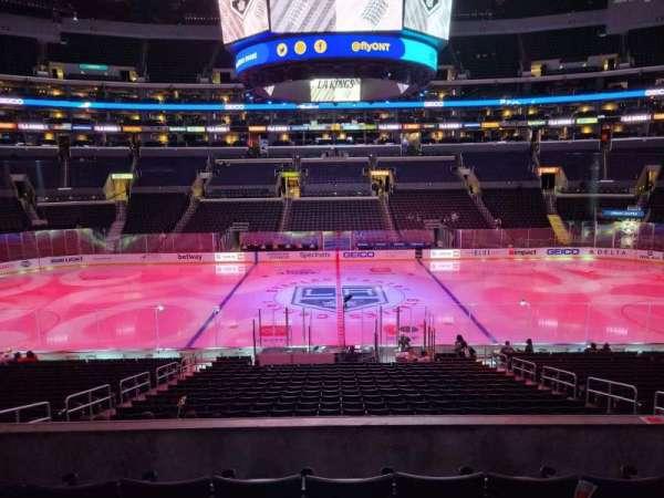 Staples Center, section: PR14, row: 5, seat: 8