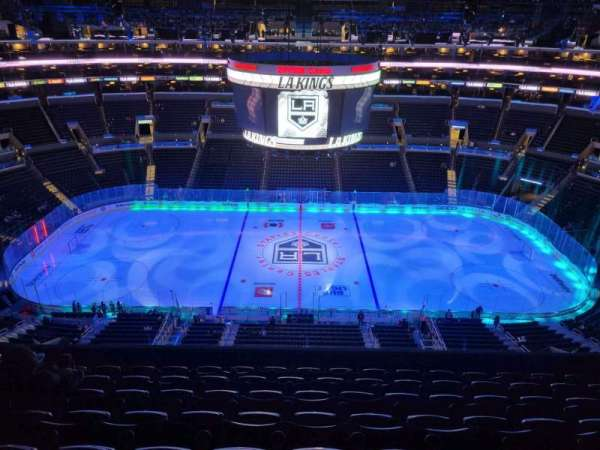 Staples Center, section: 301, row: 8, seat: 13