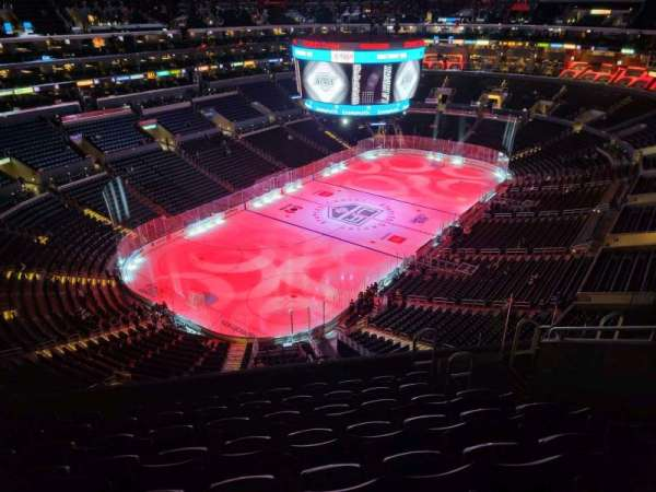 Staples Center, section: 306, row: 8, seat: 8