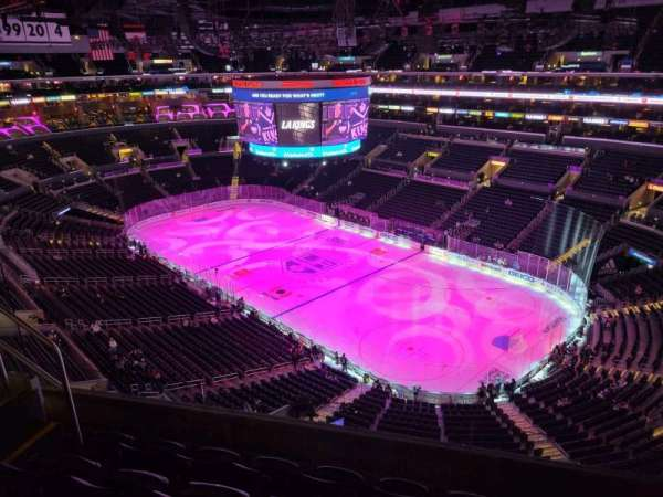 Staples Center, section: 314, row: 5, seat: 5