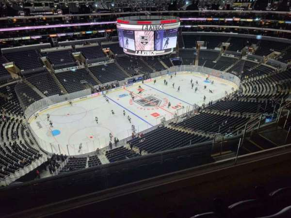 Staples Center, section: 321, row: 8, seat: 13