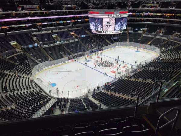 Staples Center, section: 322, row: 5, seat: 5
