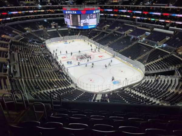 Staples Center, section: 329, row: 8, seat: 9