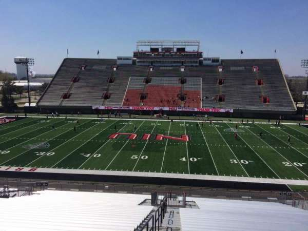 Huskie Stadium, section: L, row: 45, seat: 12